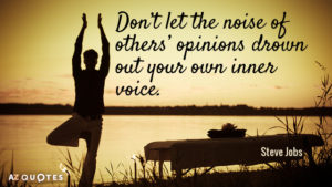 inner voice steve jobs quote